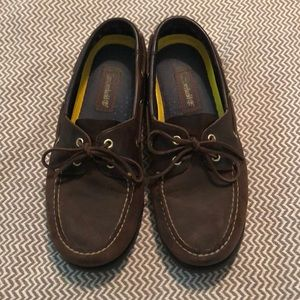 Vintage timberland loafers